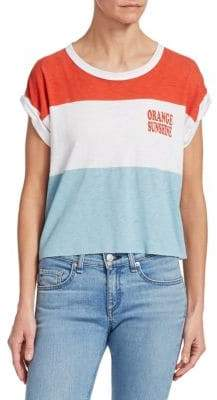 Rag & Bone Percy Colorblock Muscle Tee