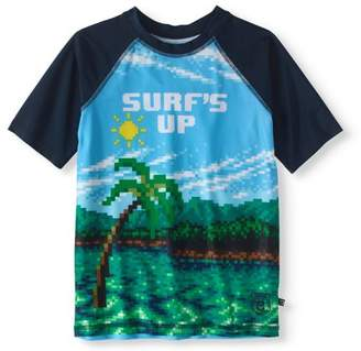 Cherokee Boys' Surfs Up Rashguard