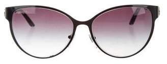 Bvlgari Round Chain-Link Sunglasses