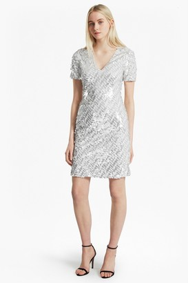 285e9bf72df French Connection Sequin Dress - ShopStyle UK