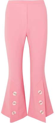Ellery Fourth Element Crepe Flared Pants - Pink