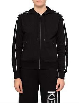 Kenzo Light Cotton Molleton Zip Front Sweat Shirt