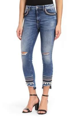 Mavi Jeans Tess Super Skinny Pompom Jeans