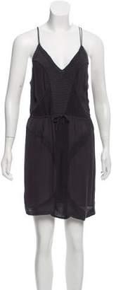 IRO knit-Accented Mini Dress