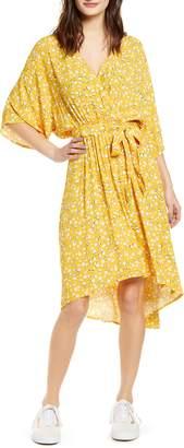 MinkPink Summer Daisy High/Low Dress