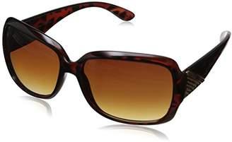 Adrienne Vittadini Women's AV1011-215 Square Sunglasses