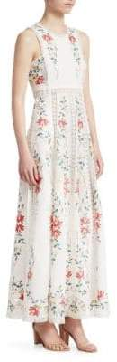 Zimmermann Laelia Cross Stitch Maxi Dress
