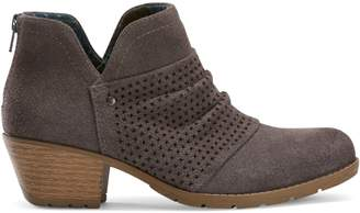 Planet By Earth Amanda Perforated Suede Booties