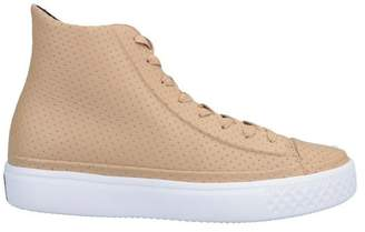 f26ab4a0befb7 Converse Beige Trainers For Women - ShopStyle UK