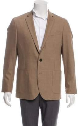 Michael Kors Wool Three-Button Blazer