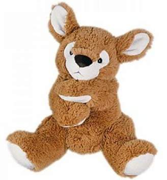 Histoire D'ours Histoire d 'Ours Puppet Soft Toy Fawn