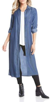 Karen Kane Chambray Shirt Dress