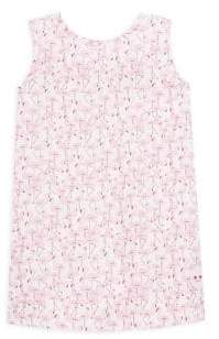 Smiling Button Toddler's& Little Girl's Flamingo Tunic
