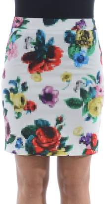 Love Moschino Floral Mini Skirt