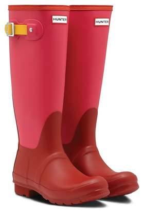 Hunter Tall Colorblock Waterproof Rain Boot