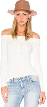 GETTINGBACKTOSQUAREONE Off The Shoulder Long Sleeve Top