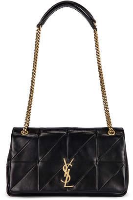 Saint Laurent Small Patchwork Leather Monogramme Jamie Chain Bag