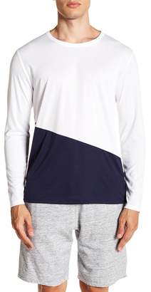 Onia Colorblock Long Sleeve Swim Tee