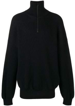 Balenciaga ribbed oversized jumper