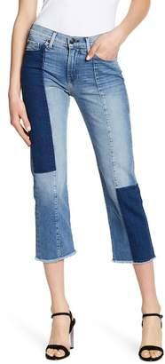 True Religion Cora Stovepipe Patch Denim Jeans