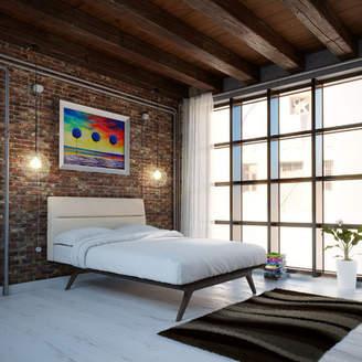 Corrigan Studio Nashua Queen Upholstered Platform Bed