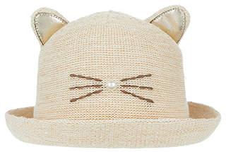 Monsoon Shimmer Cat Bowler Hat
