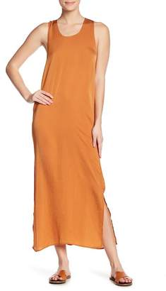 THML Solid Woven Maxi Dress