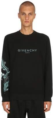 Givenchy Dragon Printed Long Sleeve Sweatshirt