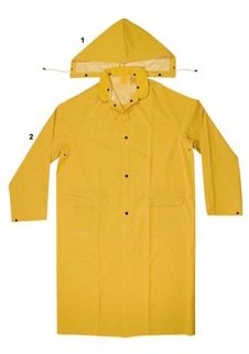 Enguard 2pc Yellow Raincoats, 3XL - 2 Pack