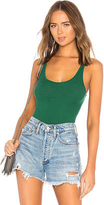 Enza Costa Rib Scoop Neck Tank