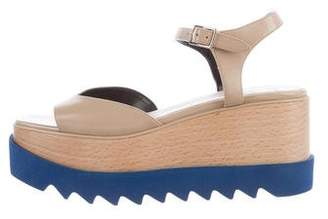 Stella McCartney Vegan Leather Flatform Sandals