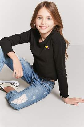 Forever 21 Girls Shooting Star Top (Kids)