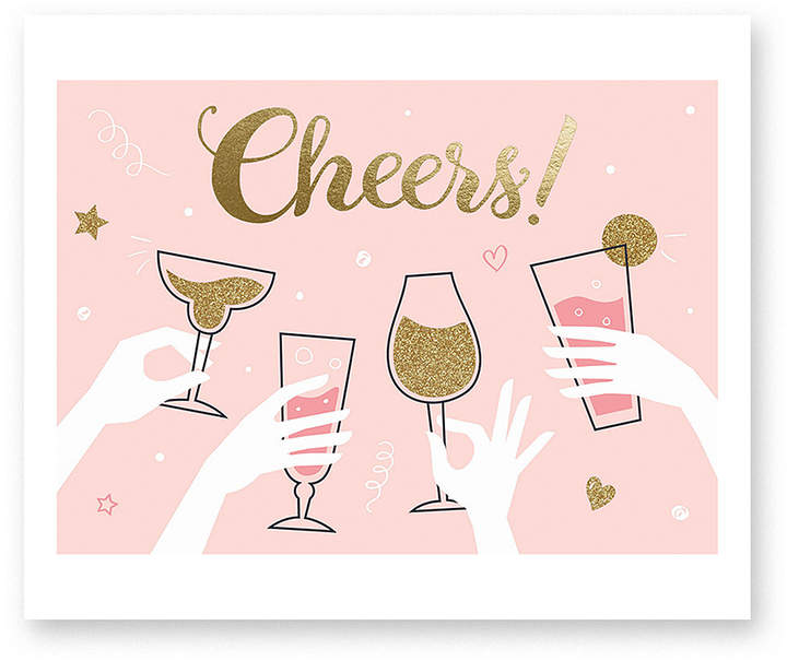 Cheers Congrats Greeting Card - Set of Six