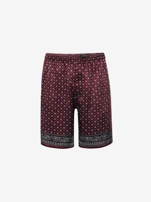 Alexander McQueen Paisley Shorts