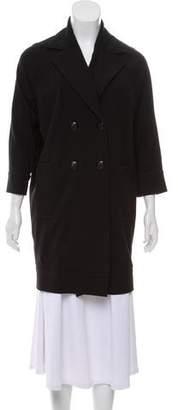 Diane von Furstenberg Delphinia Knee-Length Coat