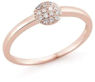 Ralph Lauren DANA REBECCA 14K Rose Gold Diamond Joy Mini Ring - 0.08 ctw