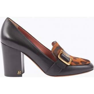 Bally Black Leather Heels