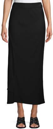 Zero Maria Cornejo A-Line Long Bias Slip Skirt