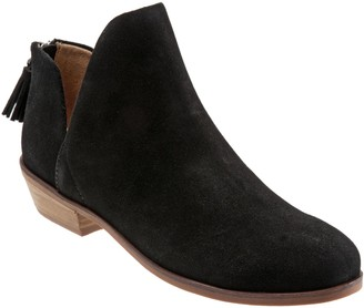 SoftWalk Year Round Suede Leather Booties - Rylee