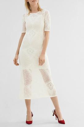 Esprit Close Fitting Knit Midi $126 thestylecure.com