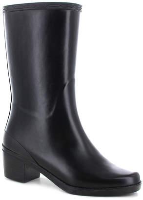 Chooka FASHION Fashion Womens Georgia Waterproof Flat Heel Pull-on Rain Boots
