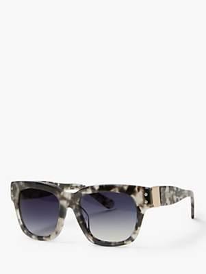 3efe58a25173 Modern Rarity Women's D-Frame Sunglasses, Grey Multi/Purple Gradient