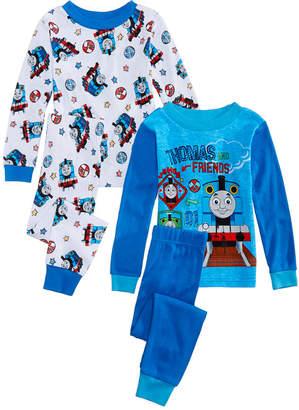 Thomas & Friends Ame Toddler Boys 4-Pc. Cotton Pajamas Set