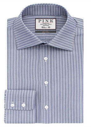 Thomas Pink Ackerman Texture Classic Fit Dress Shirt - Bloomingdale's Classic Fit $195 thestylecure.com