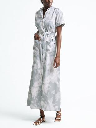 Print Utility Shirtdress $158 thestylecure.com
