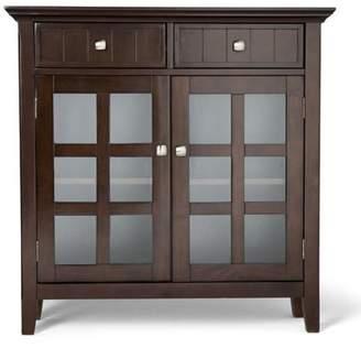 Simpli Home Acadian Entryway Storage Cabinet