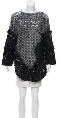 Avant Toi Oversize Asymmetrical Sweater w/ Tags