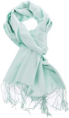 NY Downtowner Luxury Silk Pashmina Scarf | Silky Soft Elegant Wrap | Stylish Solid Colors Unisex Men Women| Vegan Hypoallergenic Quality