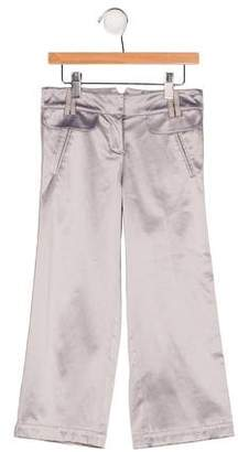 Lili Gaufrette Girls' Metallic Three Pocket Pants