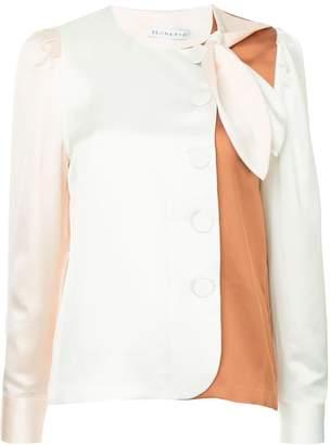 Rejina Pyo colour block collarless shirt